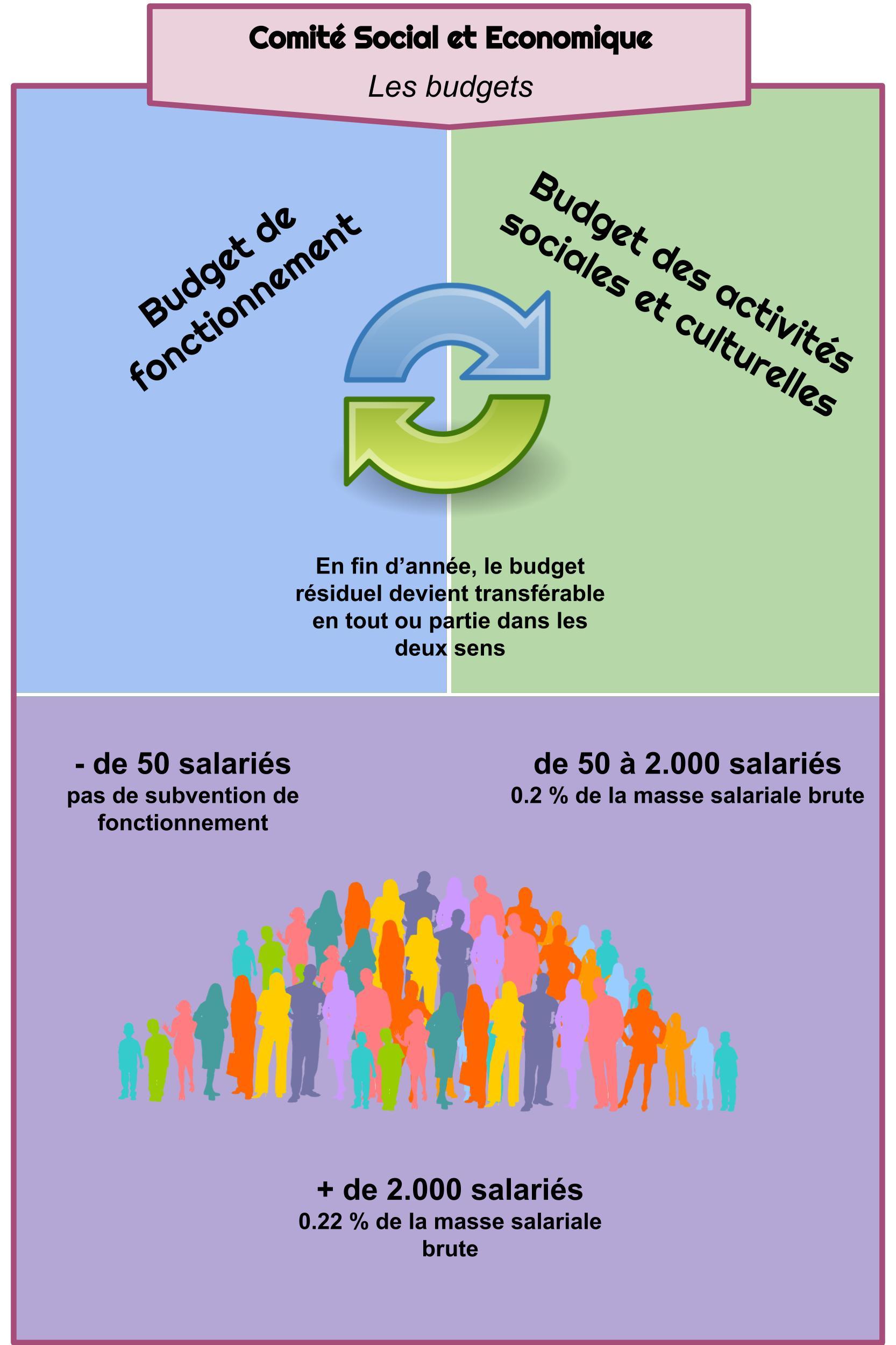 CSE - Les budgets