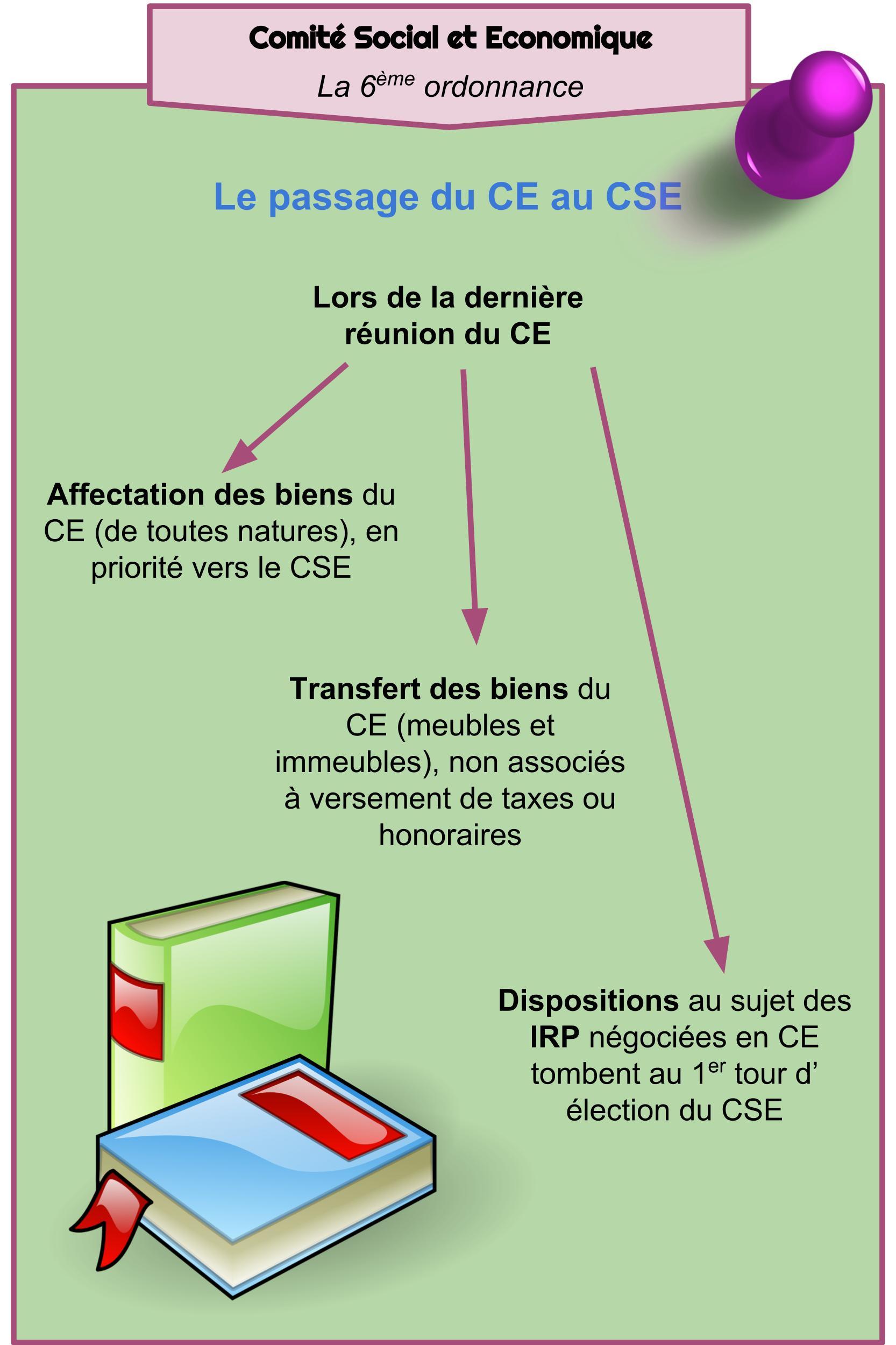 CSE - La 6ème ordonnance