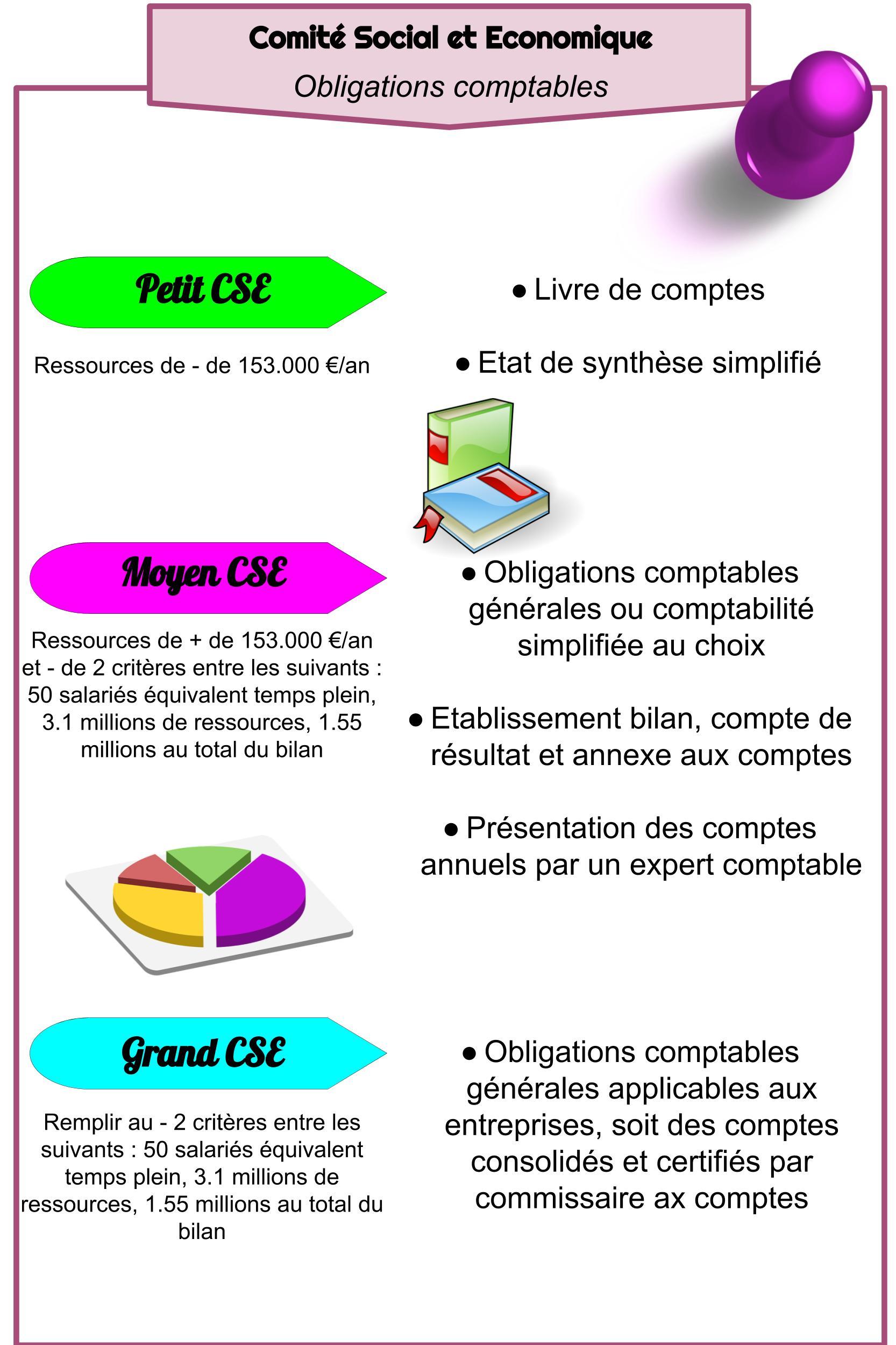 CSE - Obligations comptables